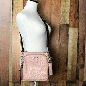 Steve Madden - a glam logo crossbody purse